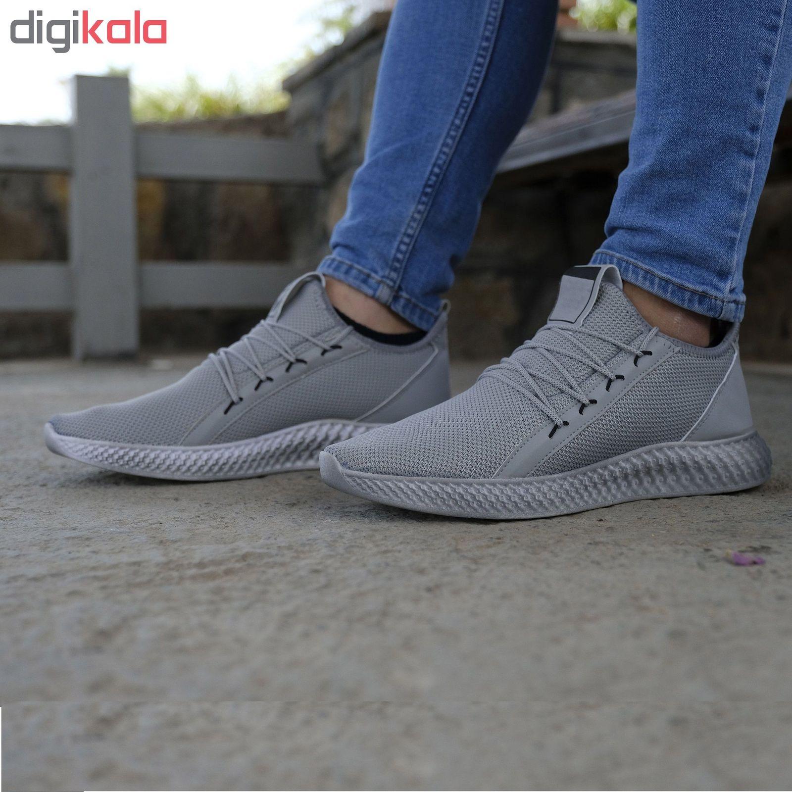 کفش مخصوص پیاده روی مردانه مدل adi-super رنگ طوسی main 1 3