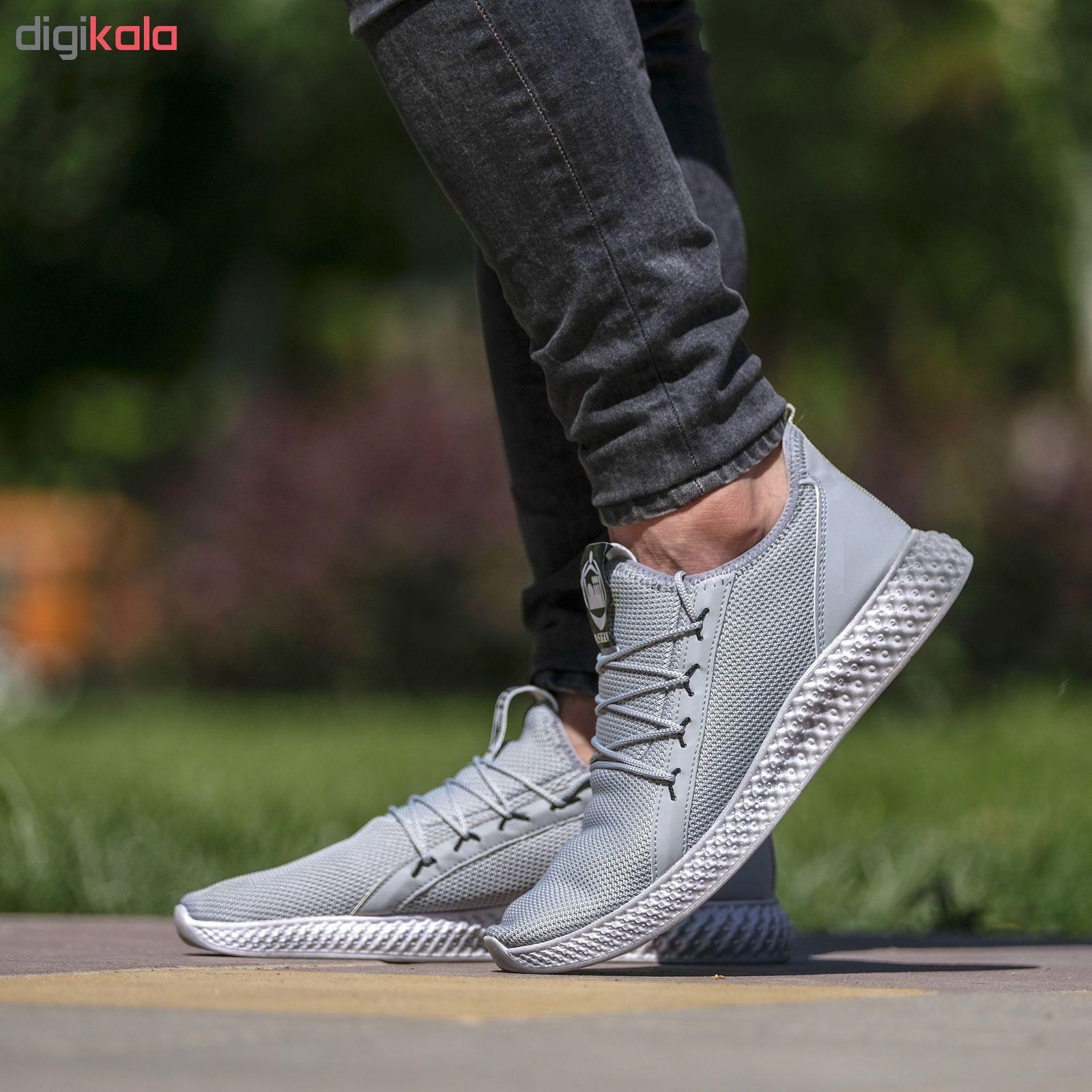 کفش مخصوص پیاده روی مردانه مدل adi-super رنگ طوسی main 1 5