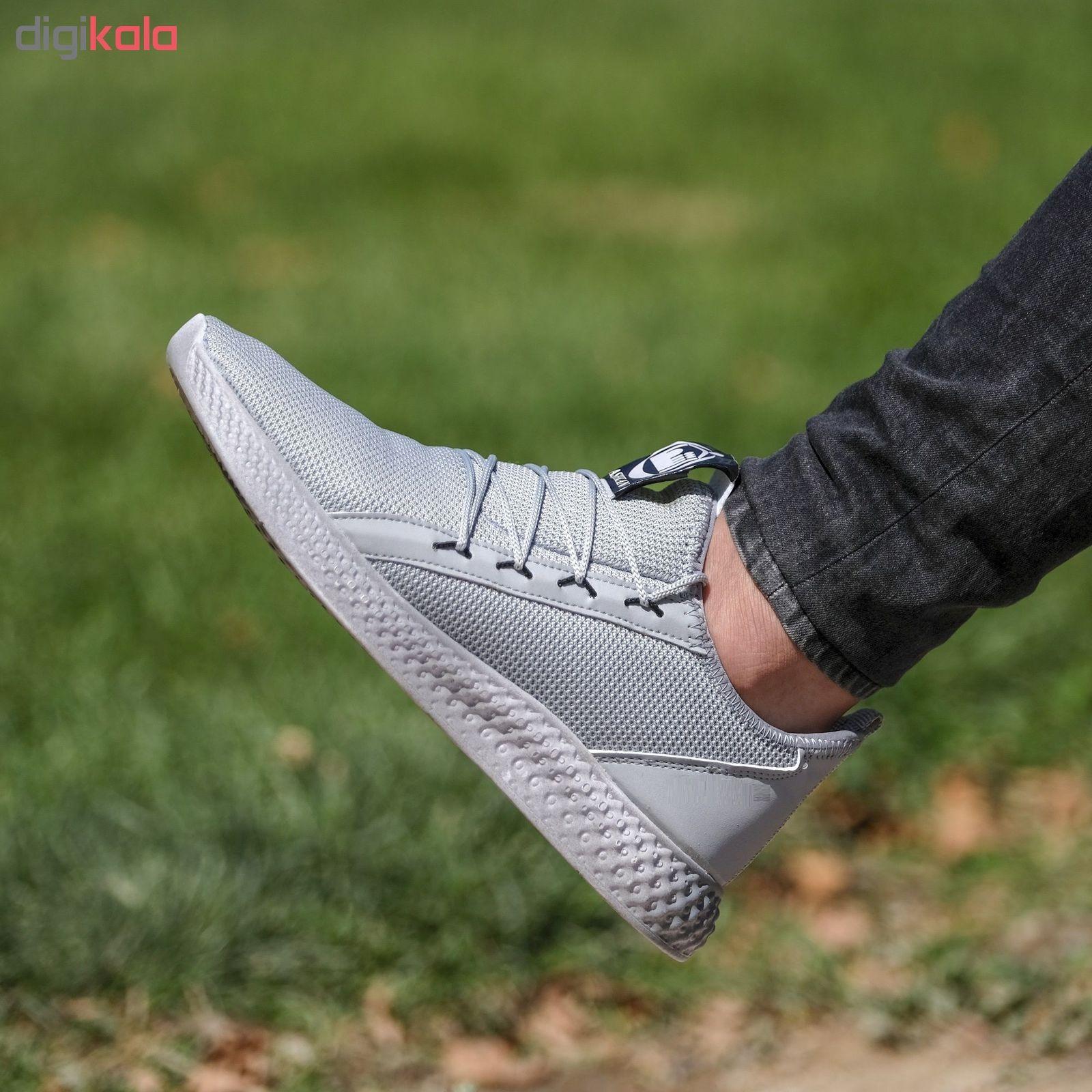 کفش مخصوص پیاده روی مردانه مدل adi-super رنگ طوسی main 1 6