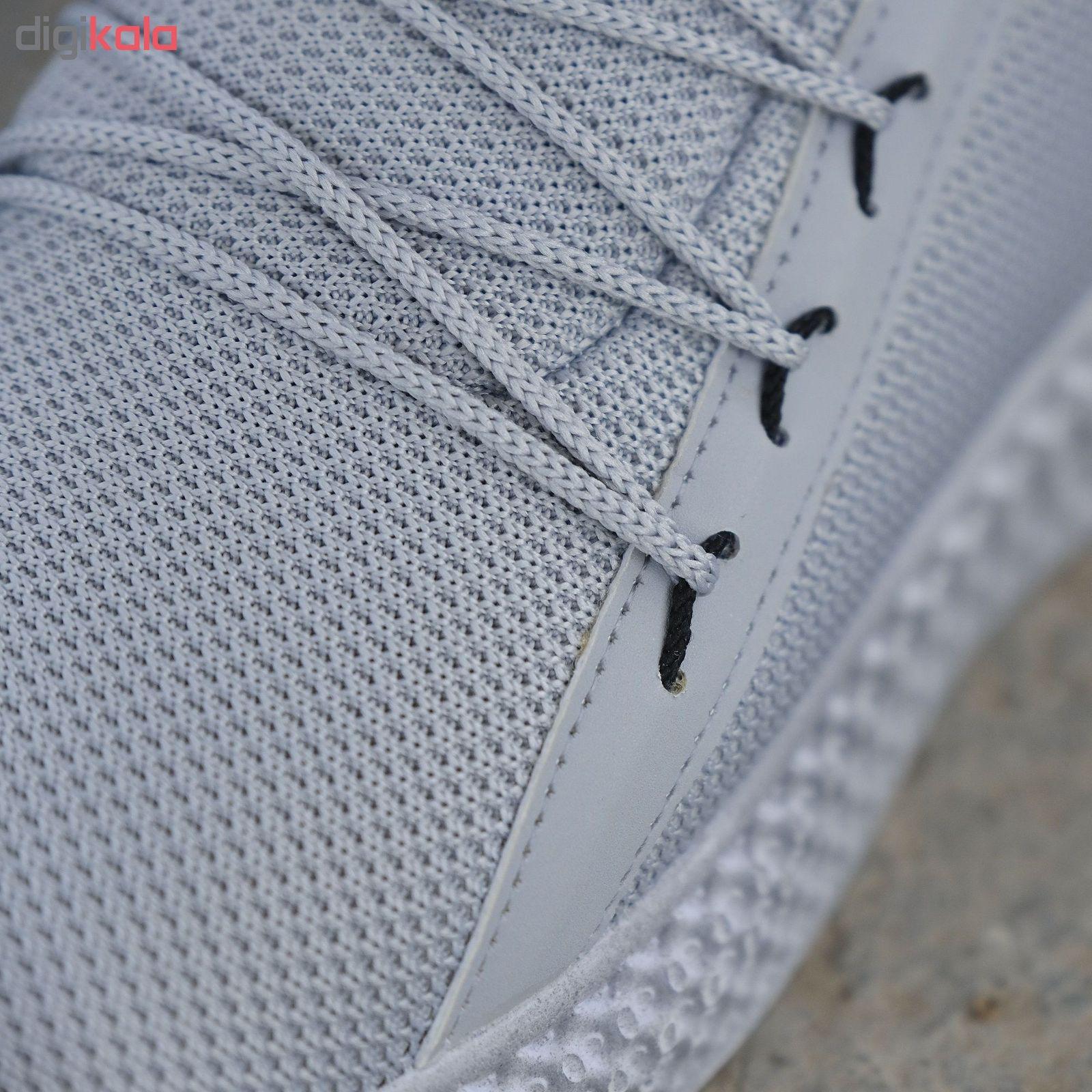 کفش مخصوص پیاده روی مردانه مدل adi-super رنگ طوسی main 1 7