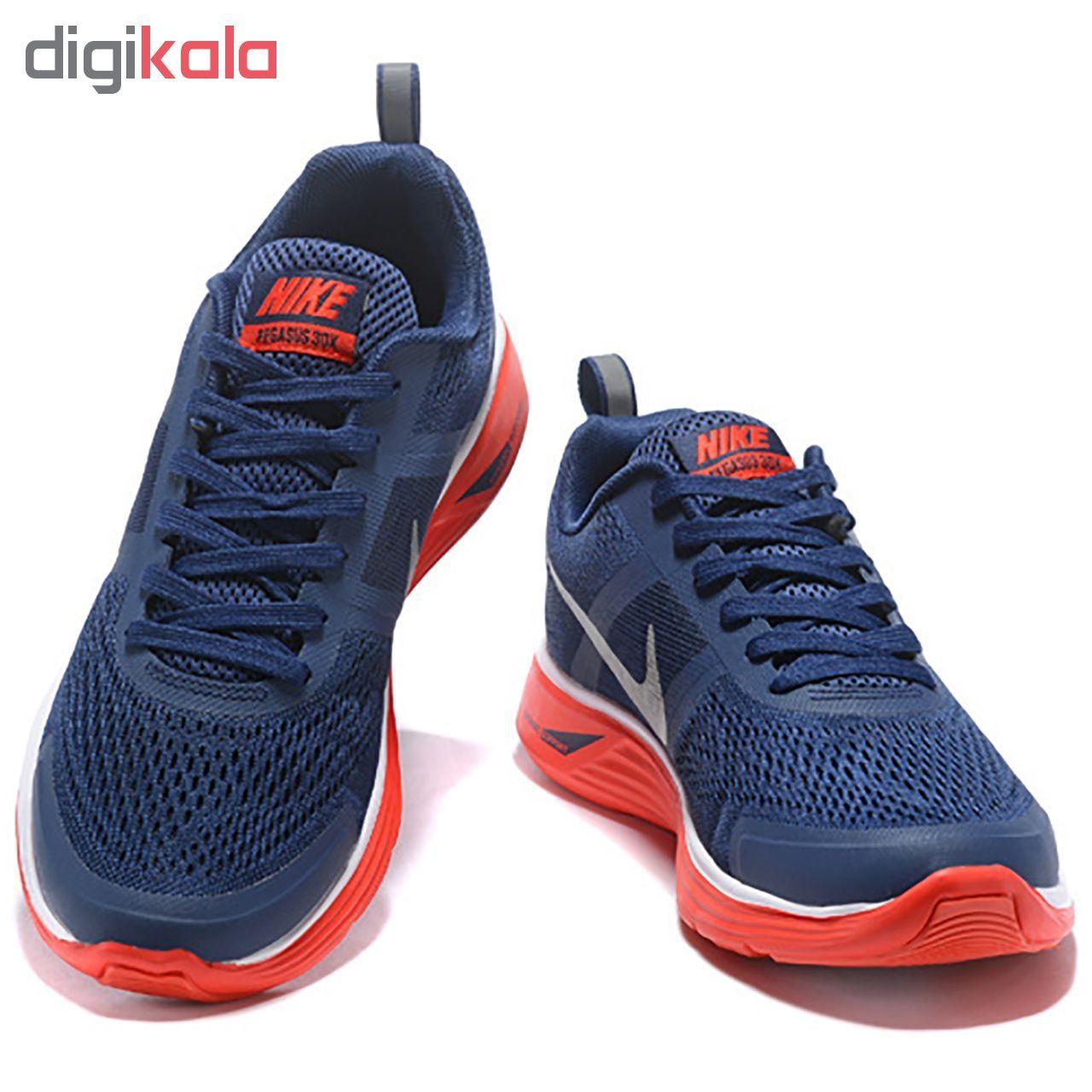 کفش مخصوص پیاده روی مردانه نایکی مدل Air Pegasus 30X Navy 803268-004  main 1 3