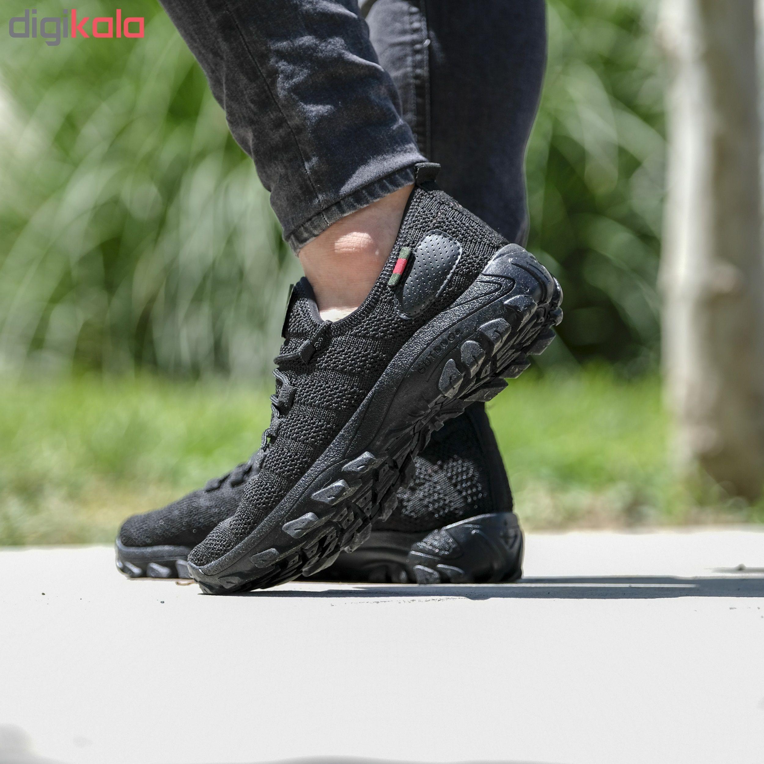 کفش مخصوص دویدن مردانه مدل arshi-kohestani رنگ مشکی main 1 2