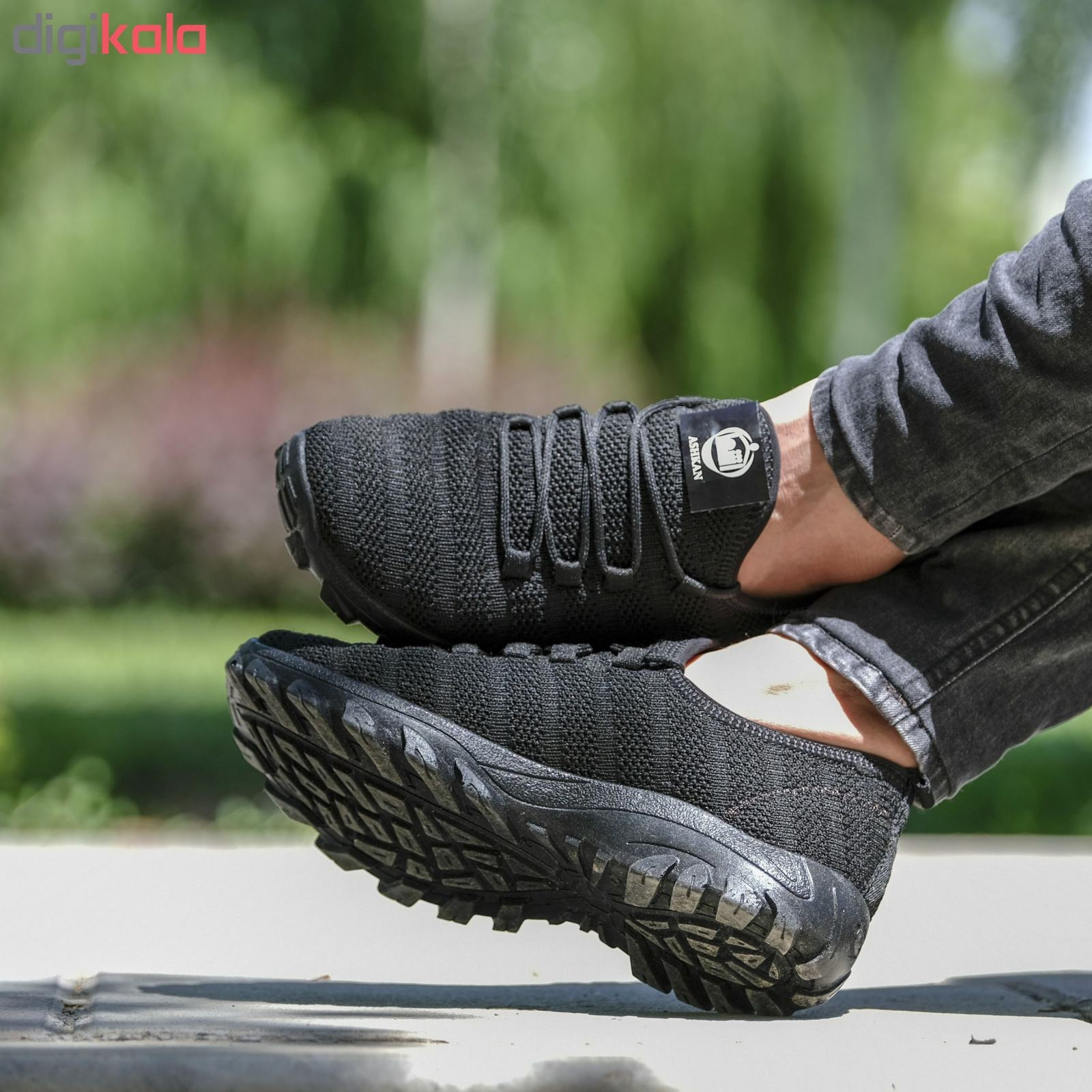 کفش مخصوص دویدن مردانه مدل arshi-kohestani رنگ مشکی main 1 6