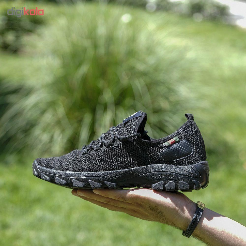 کفش مخصوص دویدن مردانه مدل arshi-kohestani رنگ مشکی main 1 8