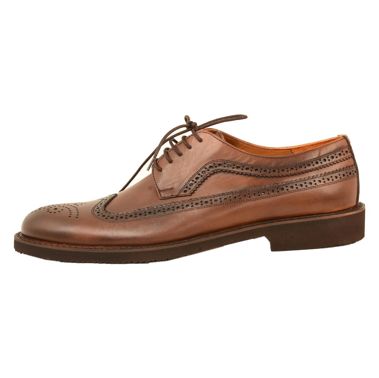 کفش مردانه کهن چرم مدل SHO155-1