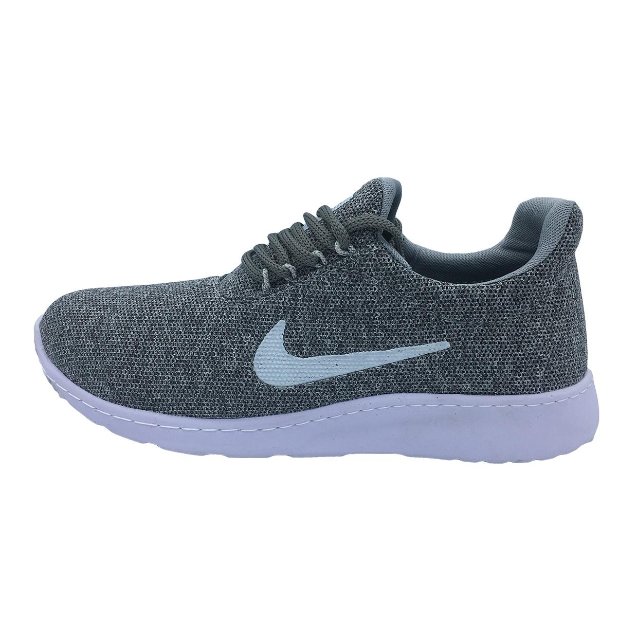کفش ورزشی مردانه مدل N100 رنگ طوسی