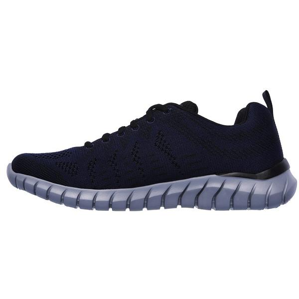 کفش مخصوص پیاده روی مردانه اسکچرز مدل MIRACLE 52819 NVBK