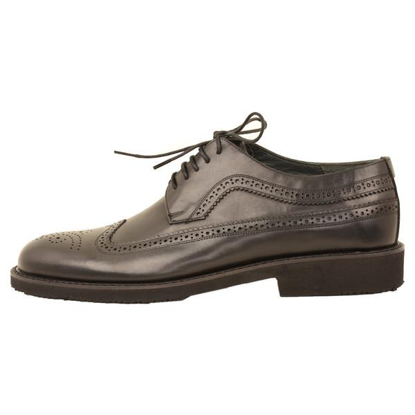 کفش مردانه کهن چرم مدل SHO155