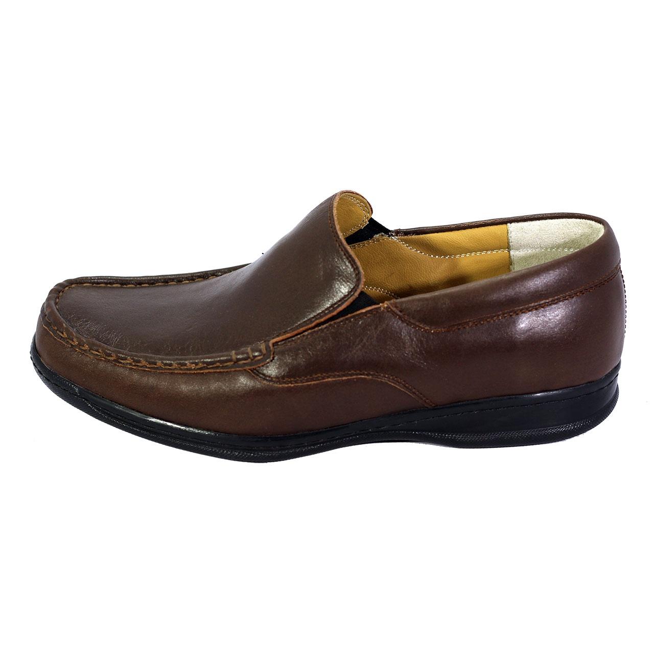کفش طبی مردانه شهرام طب مدل 1003 کد 7