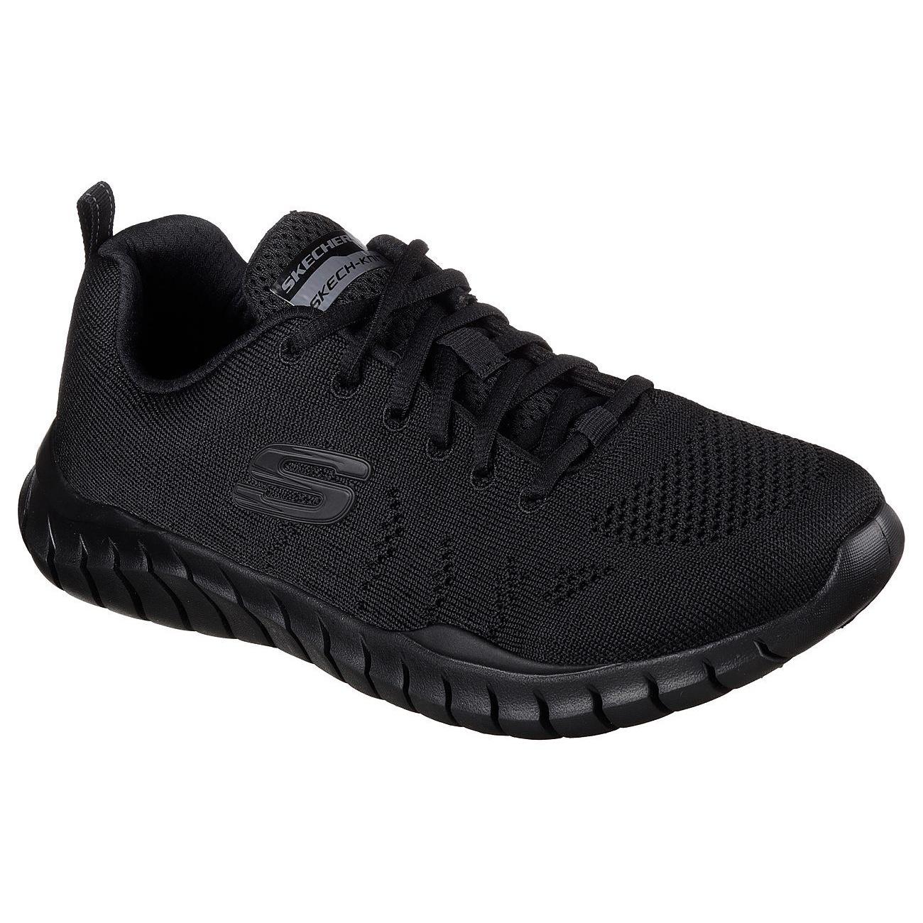 کفش مخصوص پیاده روی مردانه اسکچرز کد MIRACLE 52819BBK