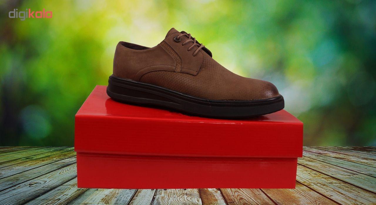 کفش روزمره مردانه شهر چرم مدل M9201-14