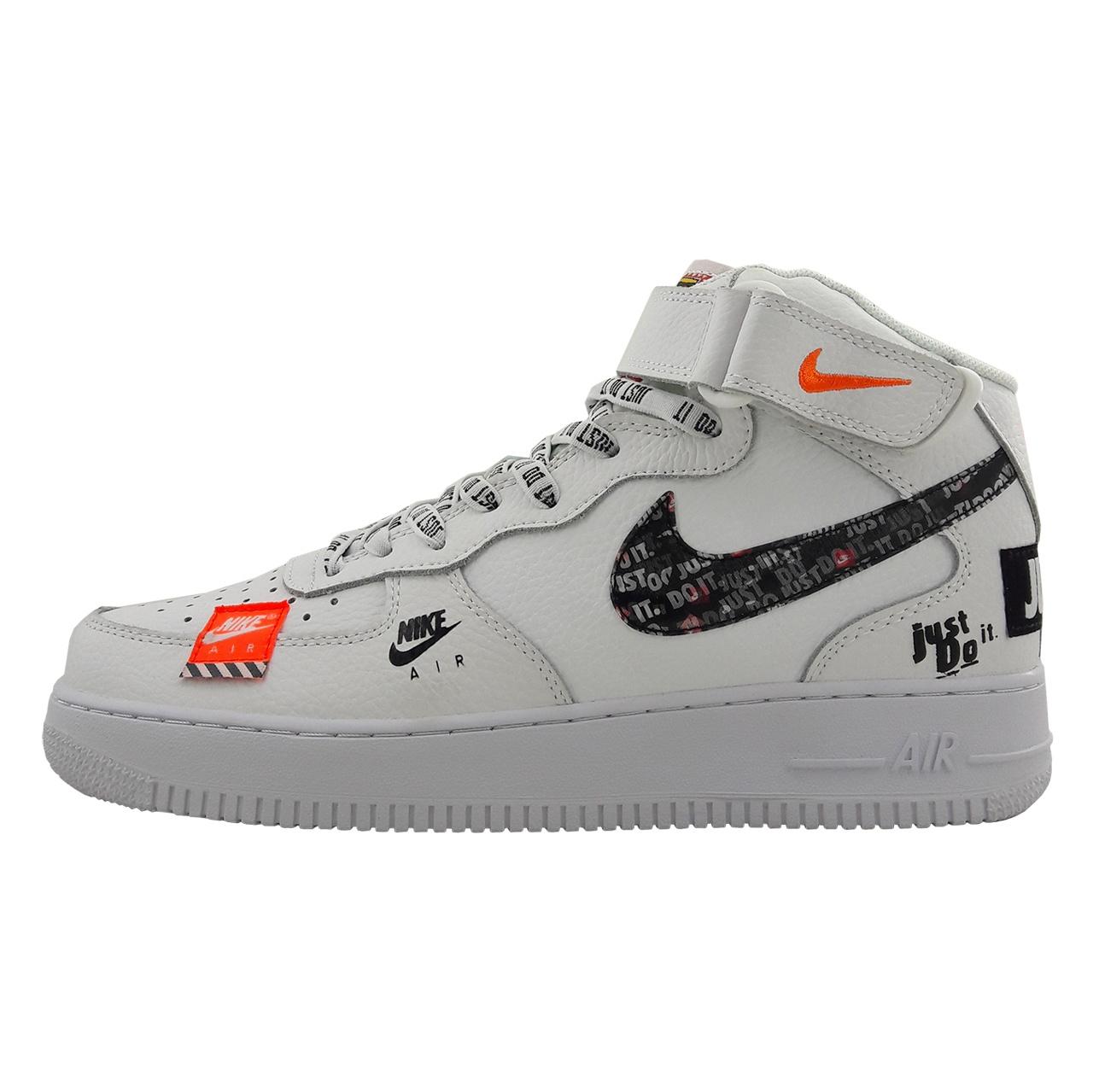 کفش راحتی مردانه نایکی مدل Air force 1 mid just do it