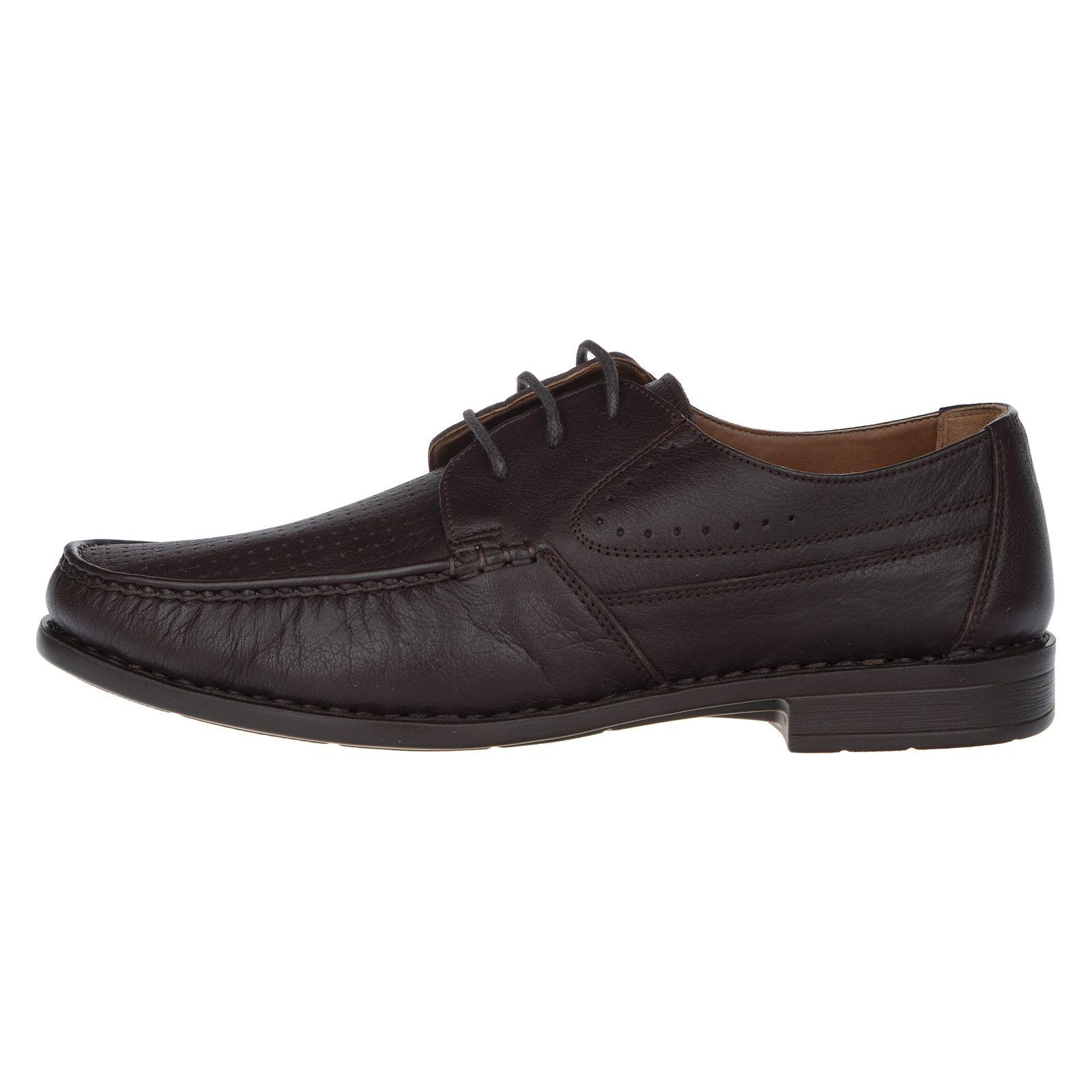 کفش روزمره مردانه پولاریس مدل 100296904-103 - قهوه ای - 2