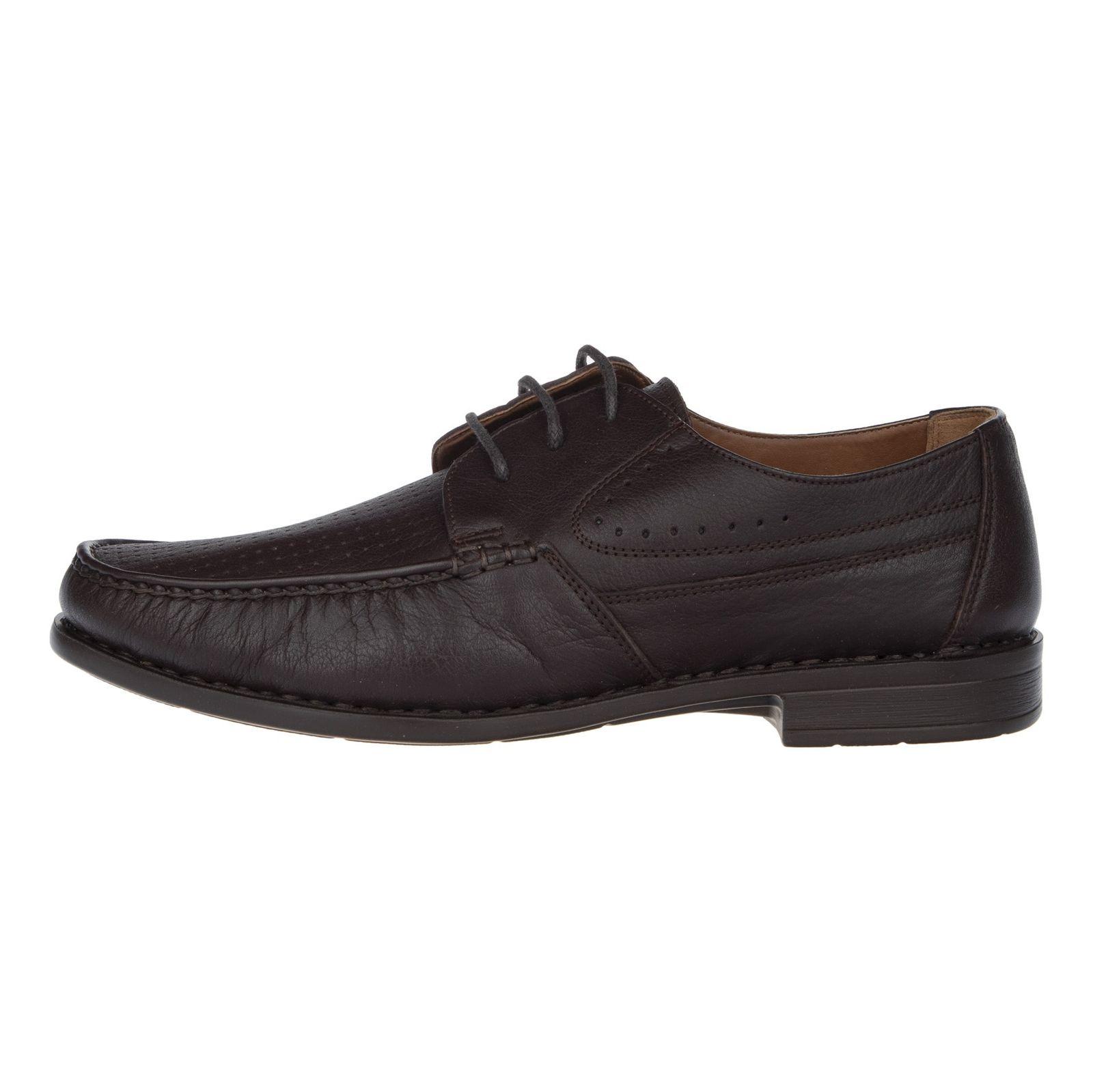 کفش روزمره مردانه پولاریس مدل 100296904-103 - قهوه ای - 3