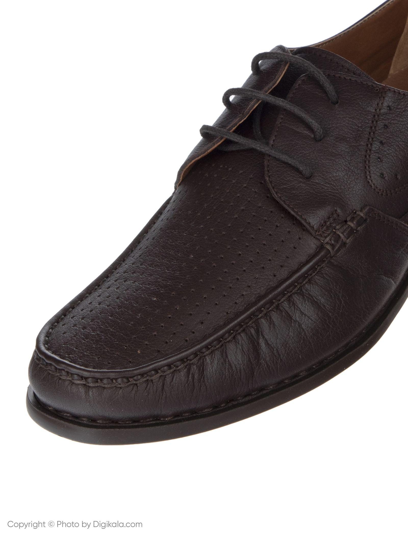 کفش روزمره مردانه پولاریس مدل 100296904-103 - قهوه ای - 8