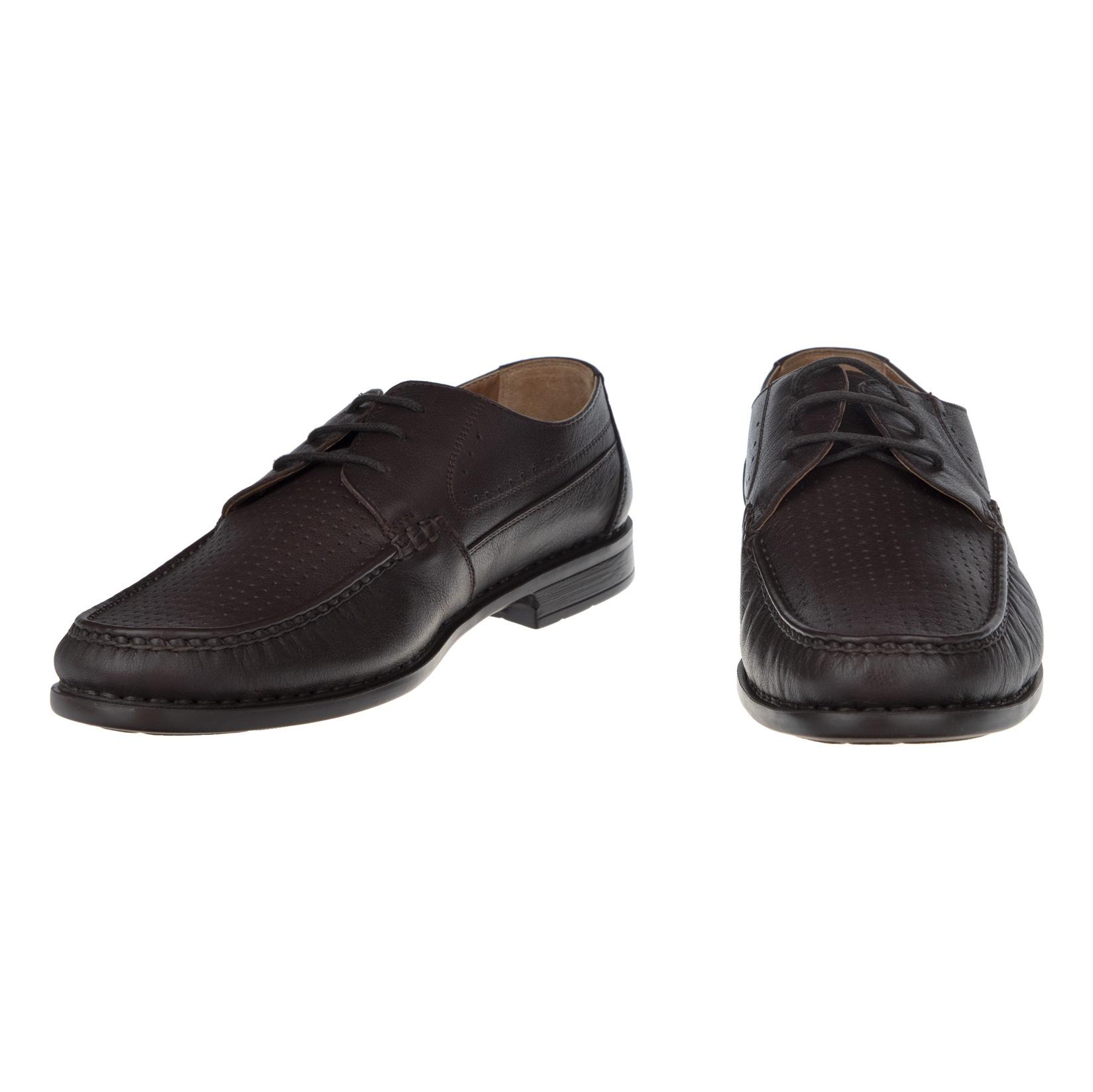 کفش روزمره مردانه پولاریس مدل 100296904-103 - قهوه ای - 5