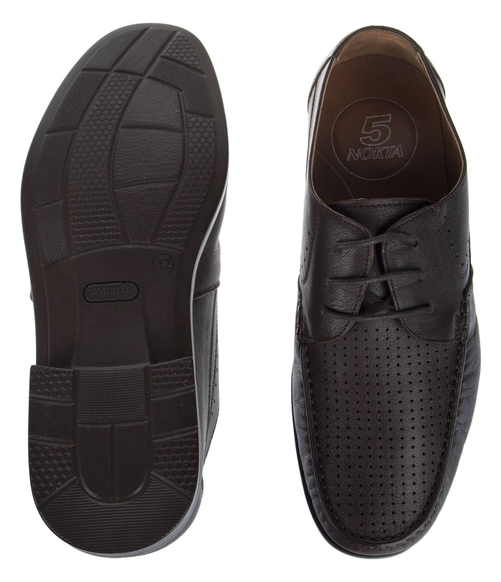 کفش روزمره مردانه پولاریس مدل 100296904-103 - قهوه ای - 7