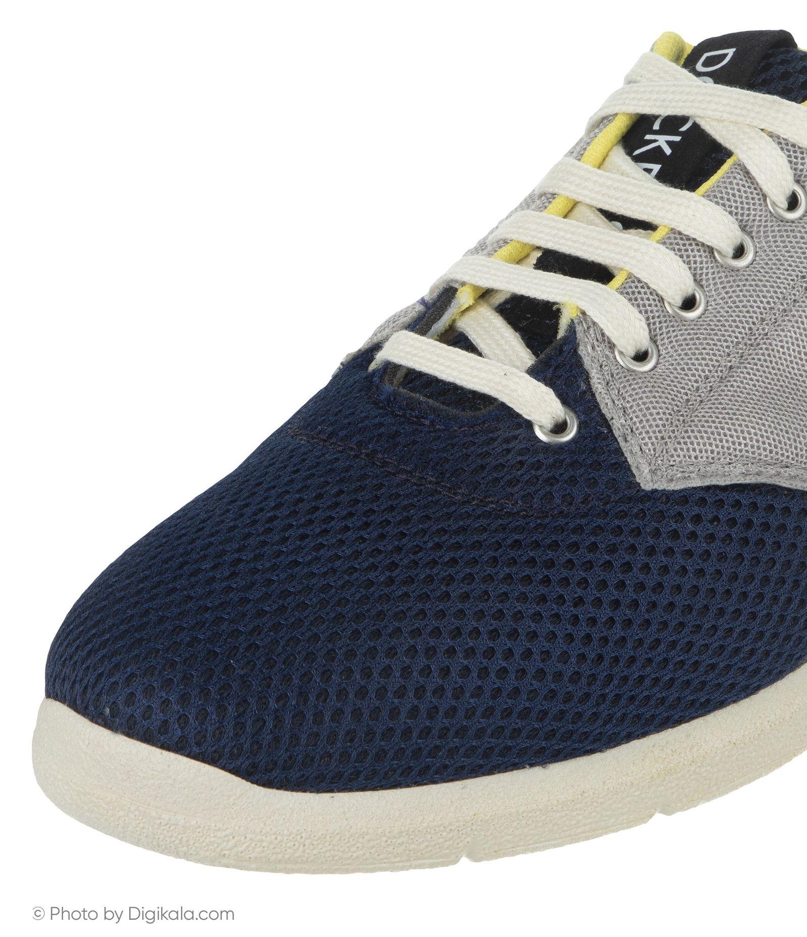 کفش روزمره مردانه داکرز مدل 100209331-101 - مشکی - 6