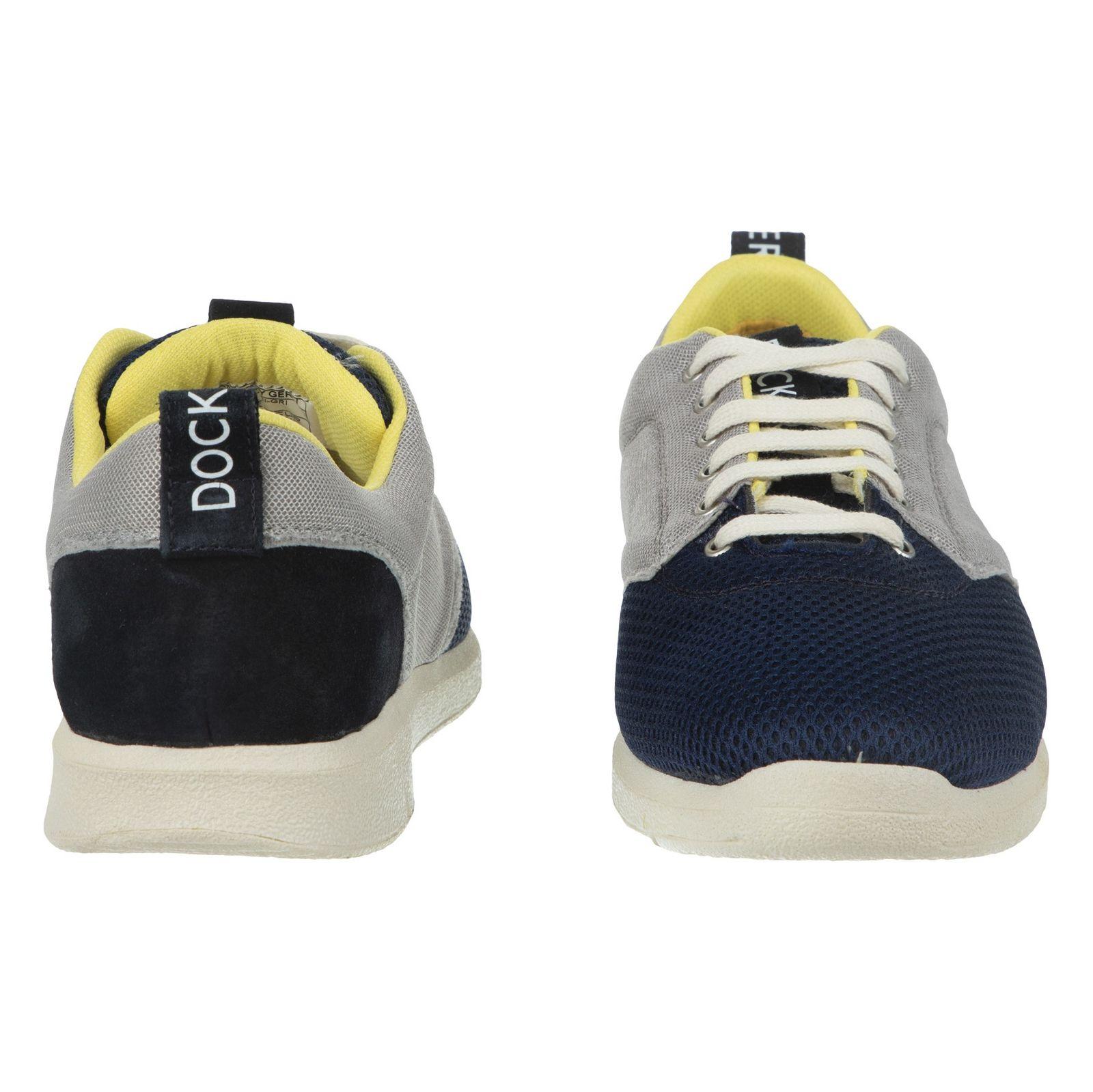 کفش روزمره مردانه داکرز مدل 100209331-101 - مشکی - 3