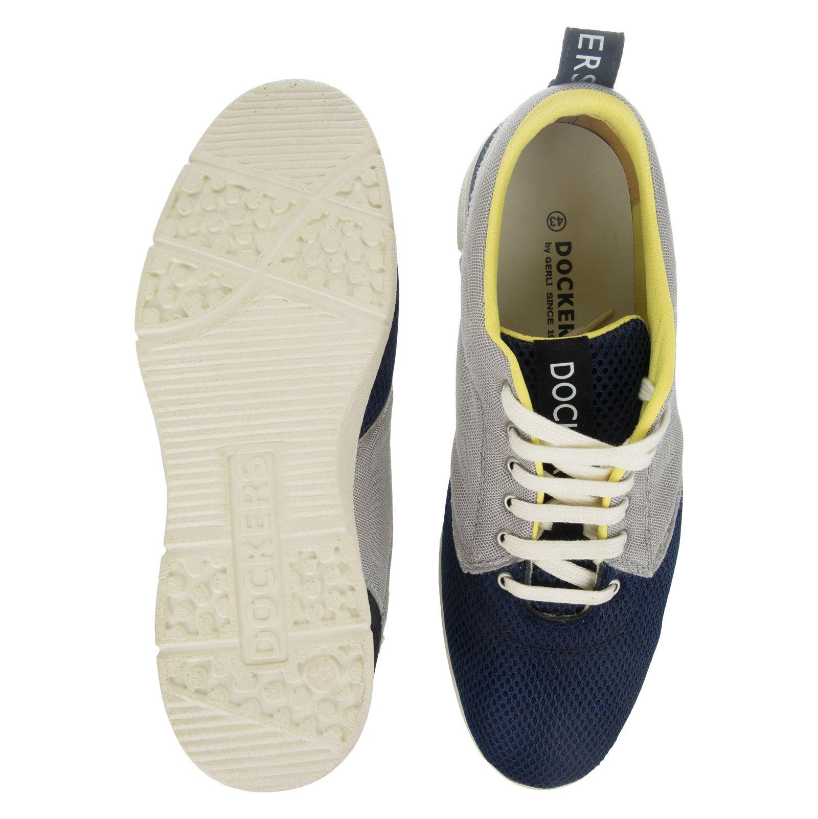 کفش روزمره مردانه داکرز مدل 100209331-101 - مشکی - 2