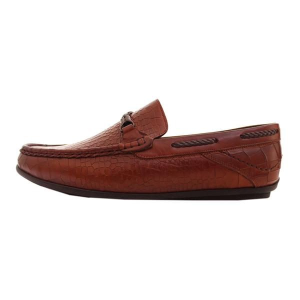 کفش روزمره مردانه چرم آرا کد sh002 as