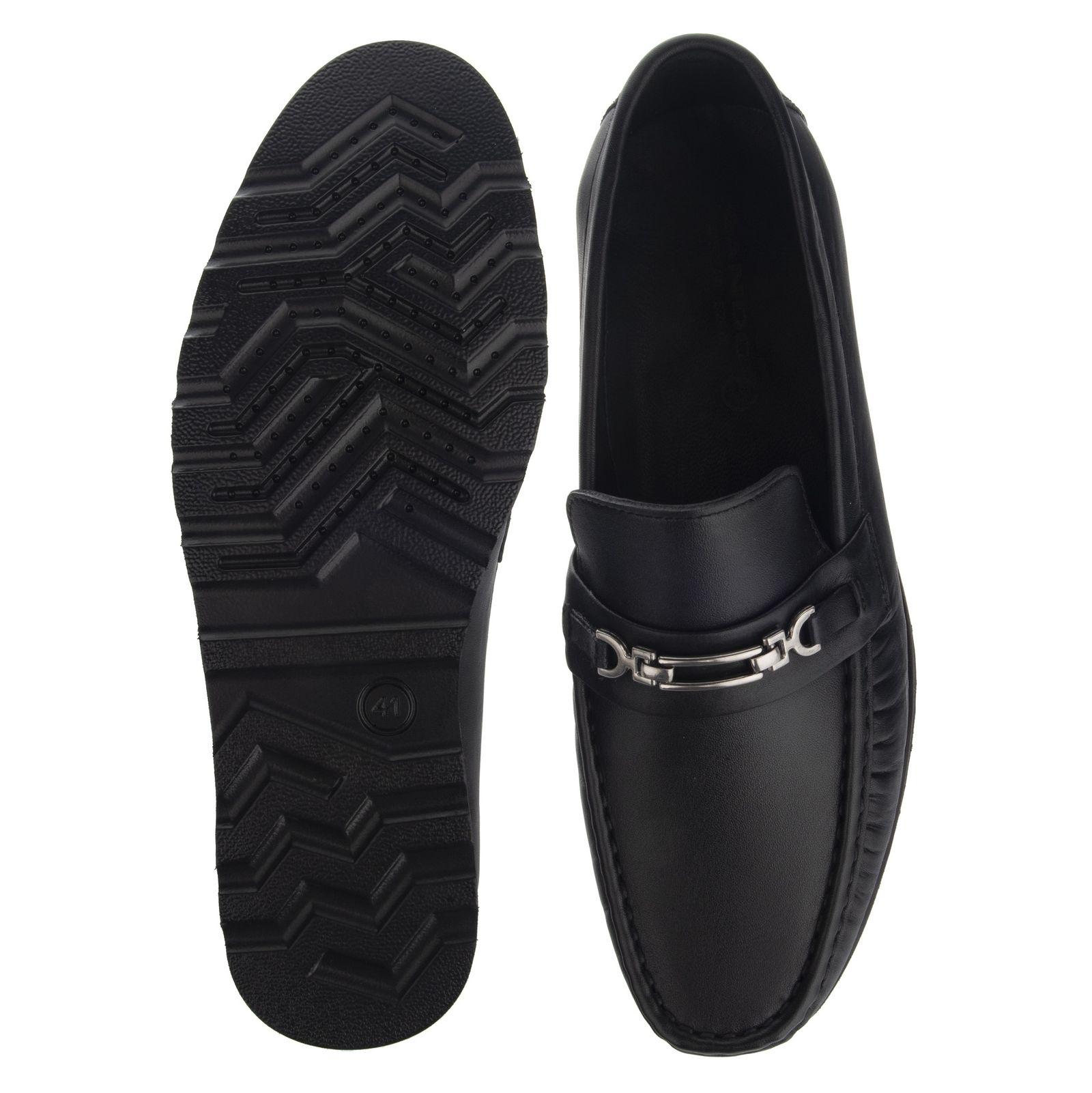 کفش مردانه گاندو مدل 711-99 - مشکی - 4