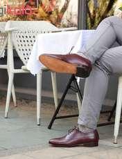 کفش مردانه دگرمان مدل غوغا کد wh.c.wing.02 -  - 4