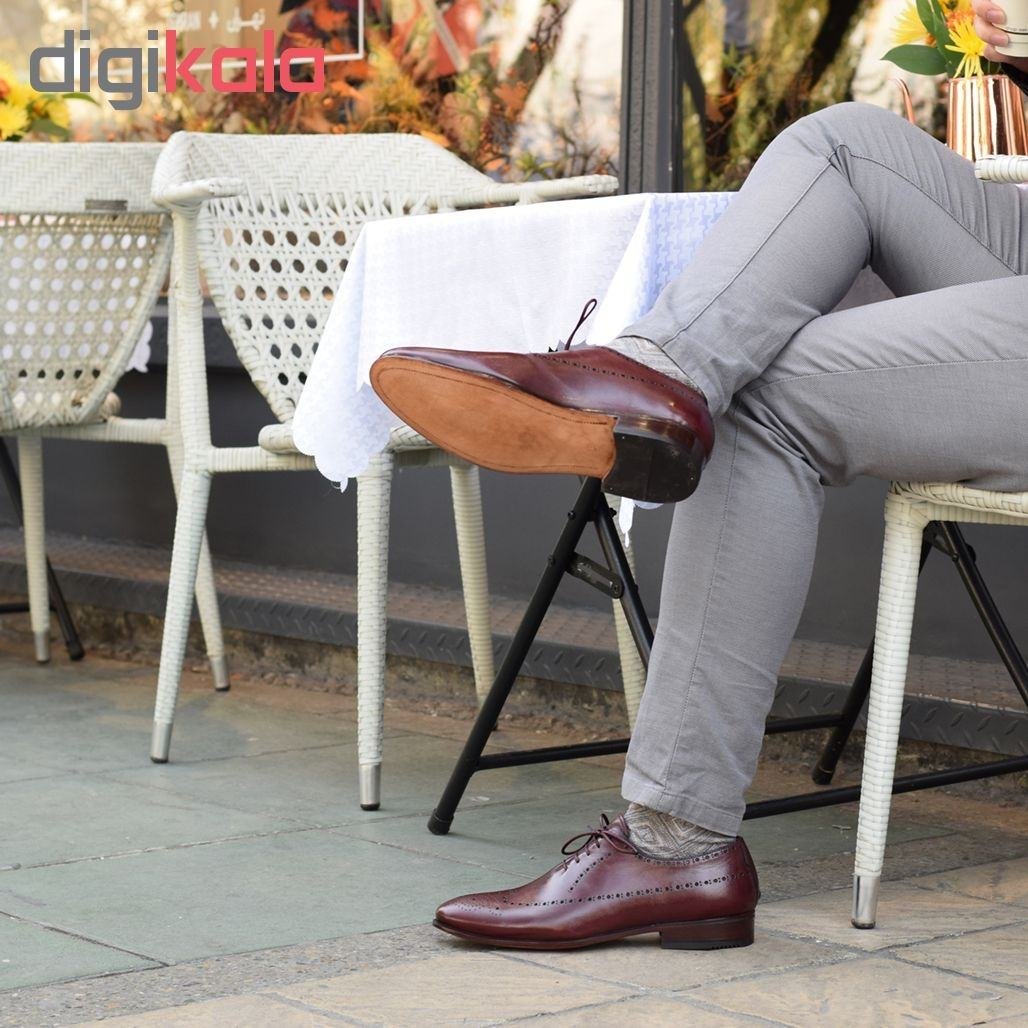 کفش مردانه دگرمان مدل غوغا کد wh.c.wing.02 -  - 5