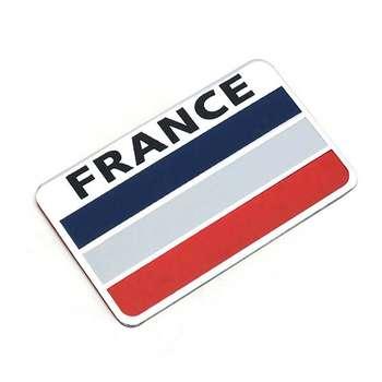 آرم خودرو طرح پرچم فرانسه مدل dan603