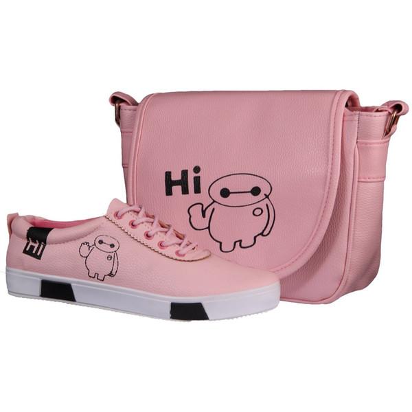ست کیف و کفش زنانه دوک مدل 16-L39050-316