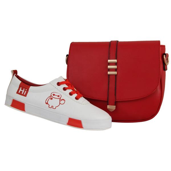 ست کیف و کفش زنانه دوک مدل 4-L39050-316