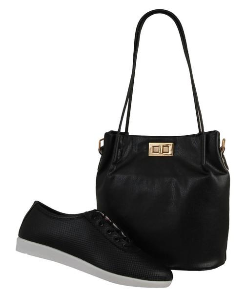 ست کیف و کفش زنانه دوک مدل 1-K665-39051