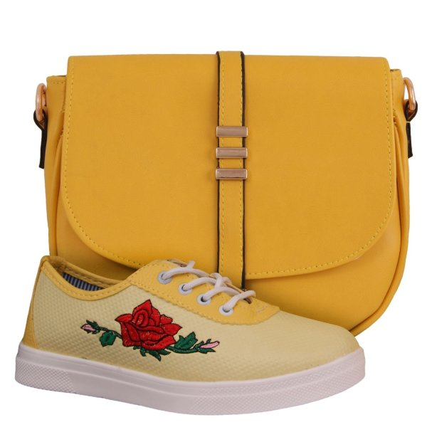 ست کیف و کفش زنانه دوک مدل 19-319-39053