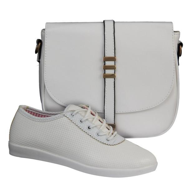 ست کیف و کفش زنانه دوک مدل 4-319-39051