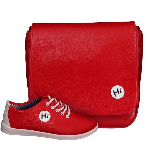 ست کیف و کفش زنانه دوک مدل K1415-11415-7