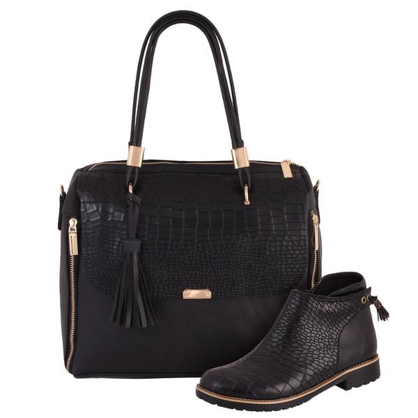ست کیف و کفش زنانه دوک مدل 1-01363-01354