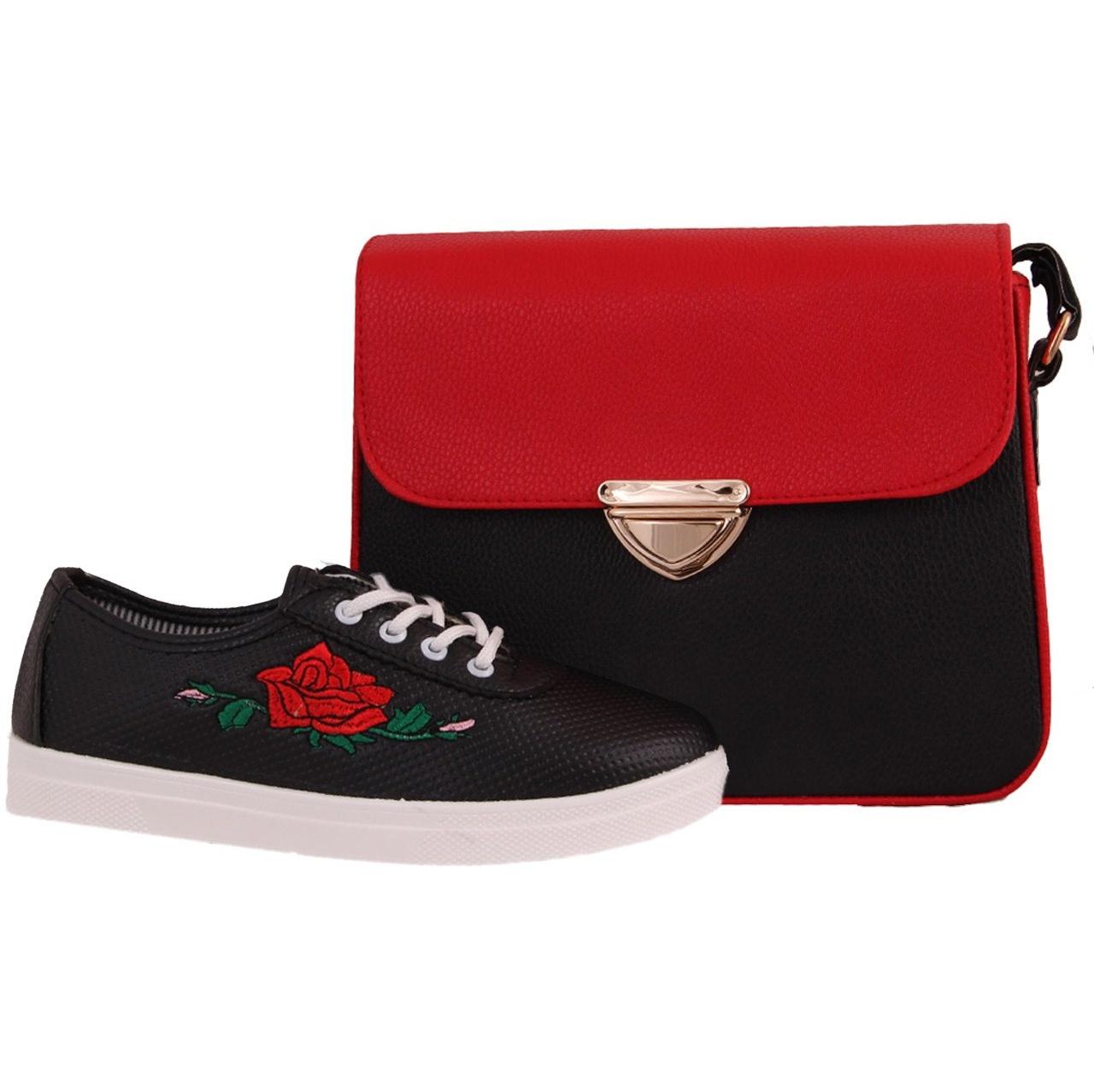 ست کیف و کفش زنانه دوک مدل 1-312-39053