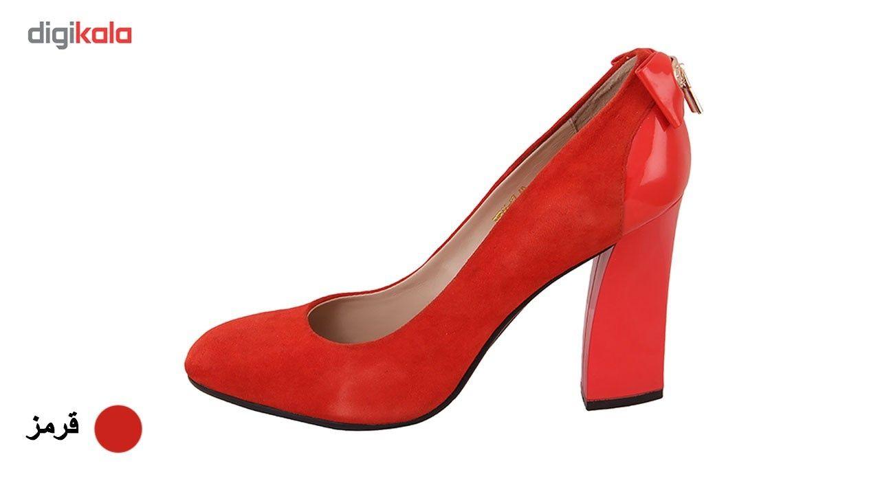 کفش زنانه  شهرچرم مدل7-7-566 -  - 2