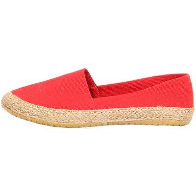 تصویر کفش زنانه پارچه ای مدل زمانی کد 421