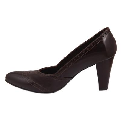 تصویر کفش چرم زنانه  شهرچرم مدل 3-39217