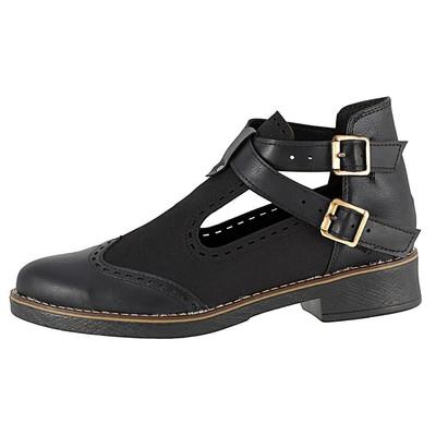 تصویر کفش زنانه ال پاسو مدل دو بند مشکی 500