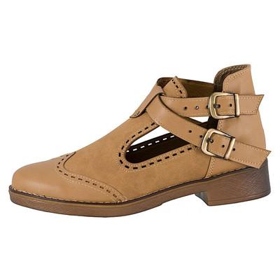 تصویر کفش زنانه ال پاسو مدل دو بند کرم 500