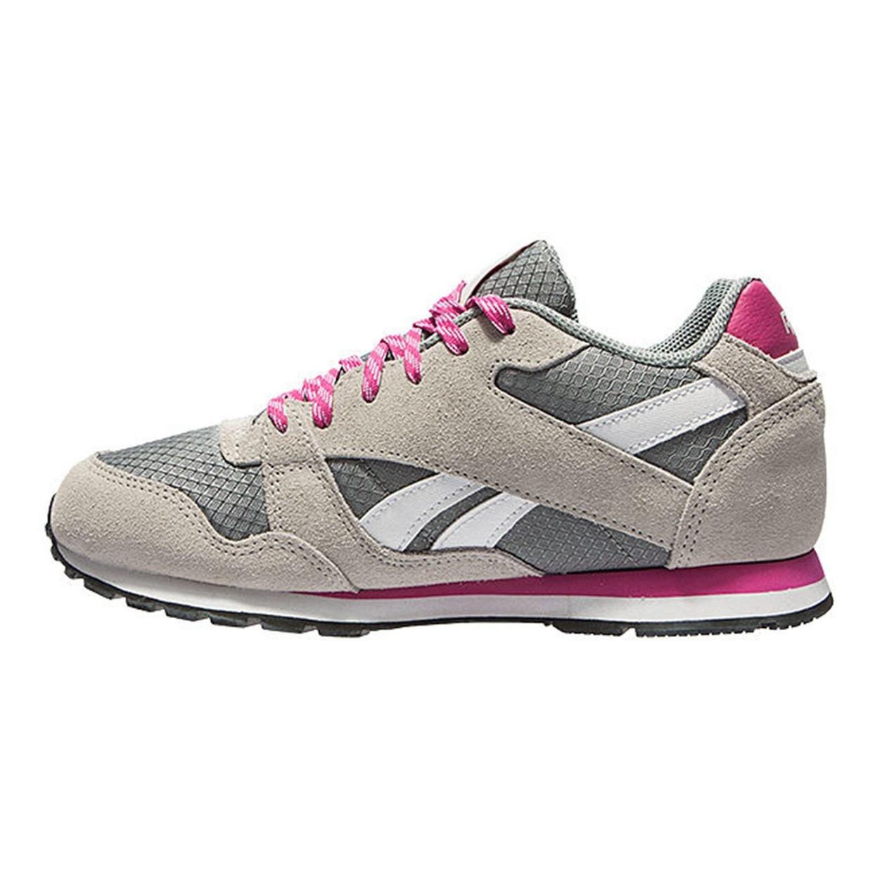 تصویر کفش مخصوص دویدن زنانه ریباک مدل Leather Pop