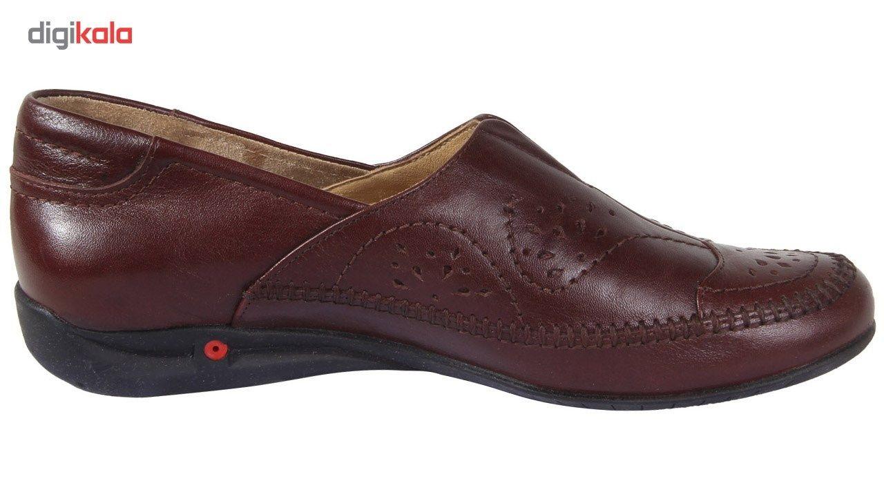 کفش زنانه شهرچرم مدل 3-5041 -  - 5