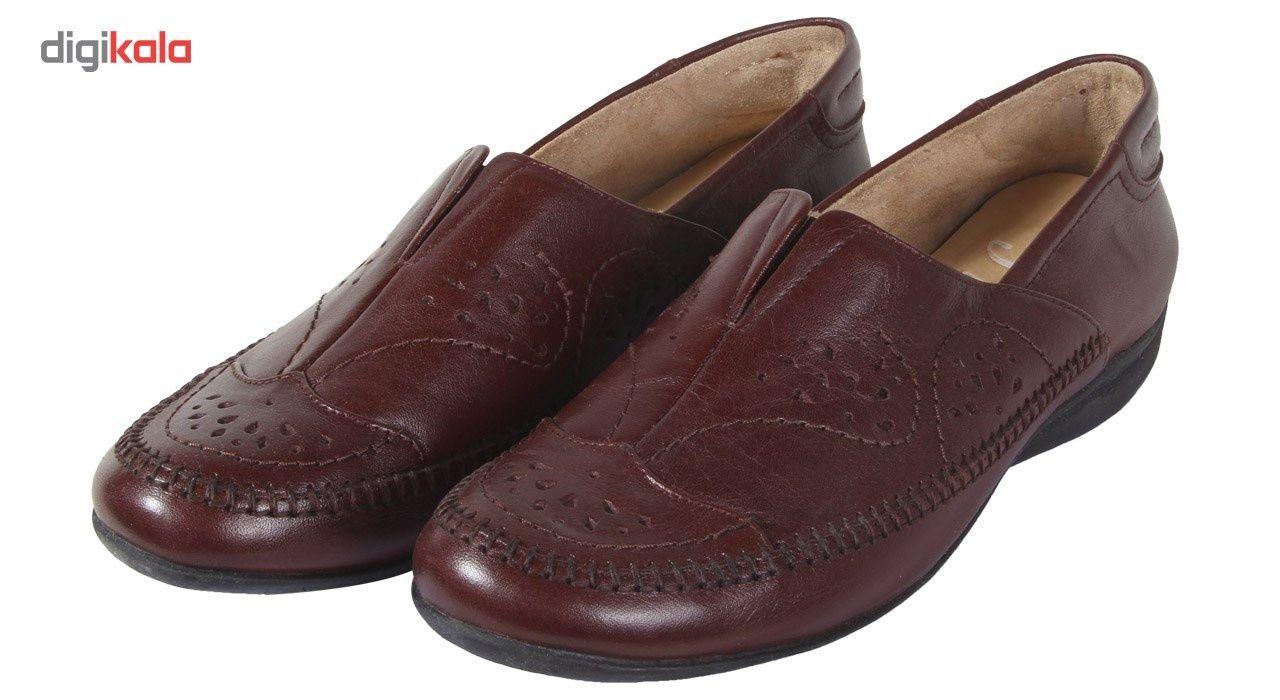 کفش زنانه شهرچرم مدل 3-5041 -  - 4