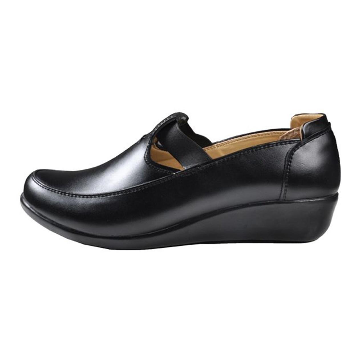کفش چرم زنانه آریوان مدل ARZ501M