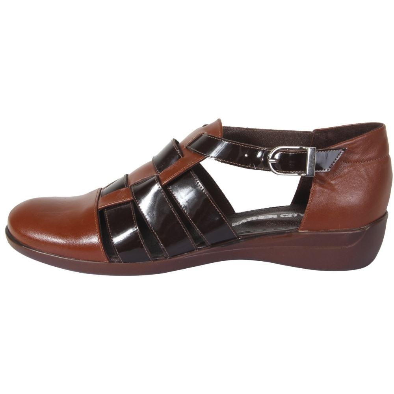 کفش چرم زنانه شهر چرم مدل 66-39236