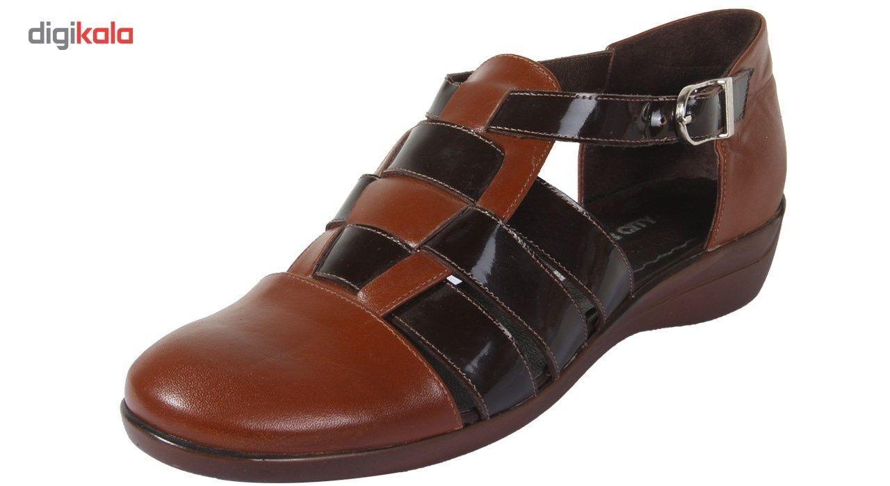 کفش چرم زنانه شهر چرم مدل 66-39236 -  - 3