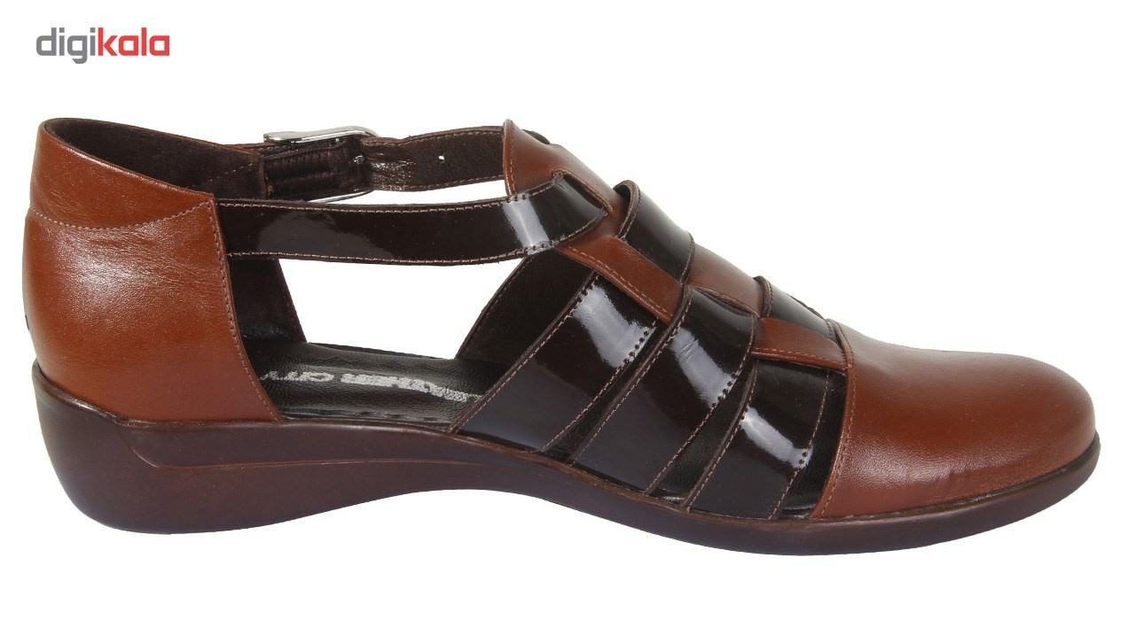 کفش چرم زنانه شهر چرم مدل 66-39236 -  - 5