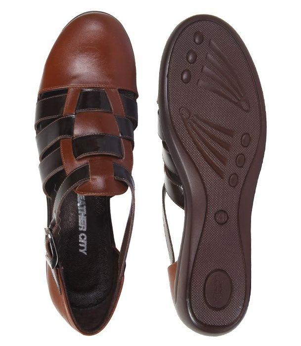 کفش چرم زنانه شهر چرم مدل 66-39236 -  - 6